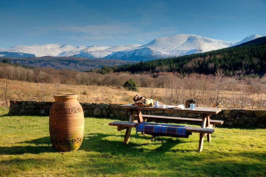 Luxury holiday cottages and cabins near Fort William